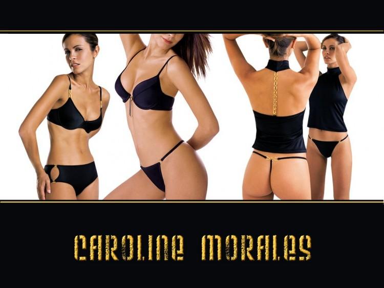 Wallpapers Celebrities Women Caroline Morales cali de m6 caroline morales