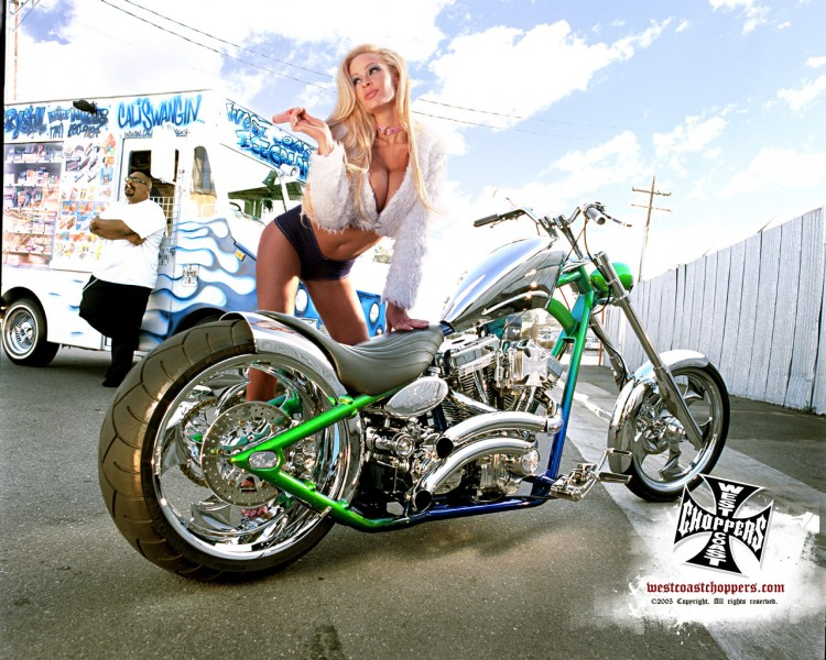 Fonds d'écran Motos Filles et motos Wallpaper N°169982