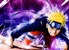Fonds d'écran Manga Naruto Rasengan