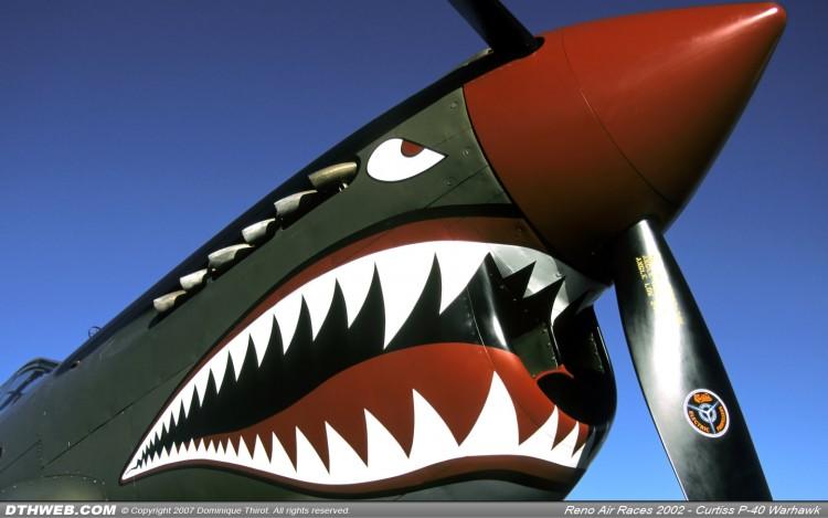 Fonds d'écran Avions Meetings aériens Nose Art