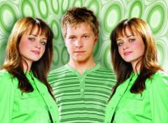 Fonds d'écran Séries TV GG Rory et Logan