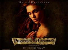 Fonds d'écran Cinéma Pirates des Caraibes : Elizabeth Swann