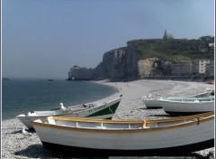 Fonds d'écran Voyages : Europe Etretat (76)