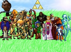 Wallpapers Video Games zelda photo famille