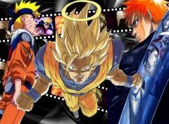 Fonds d'écran Manga Naruto bleach dragon ball