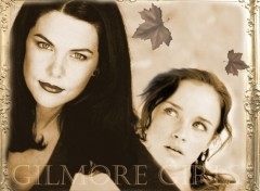 Fonds d'écran Séries TV Gilmore girls sépia