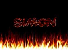 Fonds d'écran Art - Numérique Simon flammes