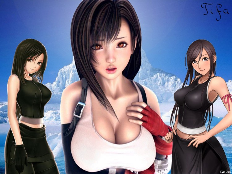 Wallpapers Video Games Final Fantasy VII Tifa Lockheart