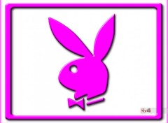 Wallpapers Brands - Advertising Playboy wall