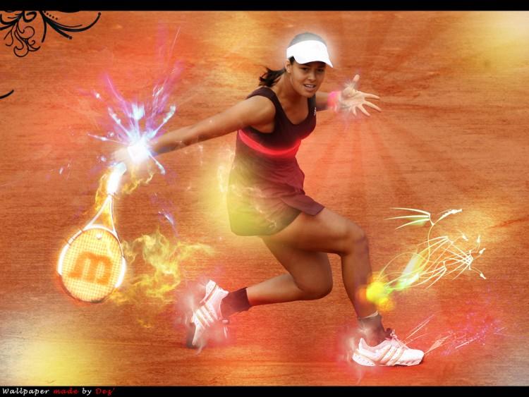 Fonds d'écran Sports - Loisirs Tennis Ana Ivanovic