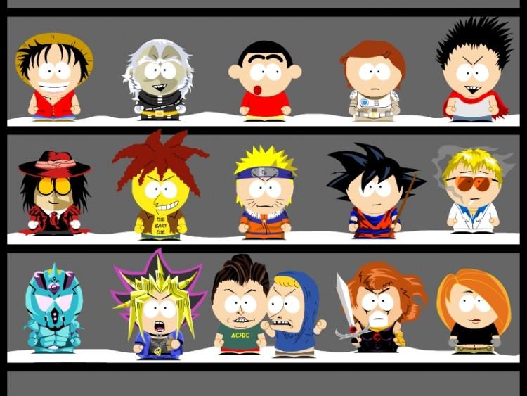 Wallpapers Cartoons Wallpapers South Park Personnage à La