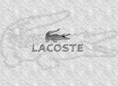 Fonds d'écran Grandes marques et publicité Lacoste