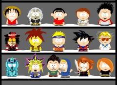 Fonds d'écran Dessins Animés Personnage à la South Park 1