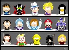 Fonds d'écran Dessins Animés Personnage à la South Park 2