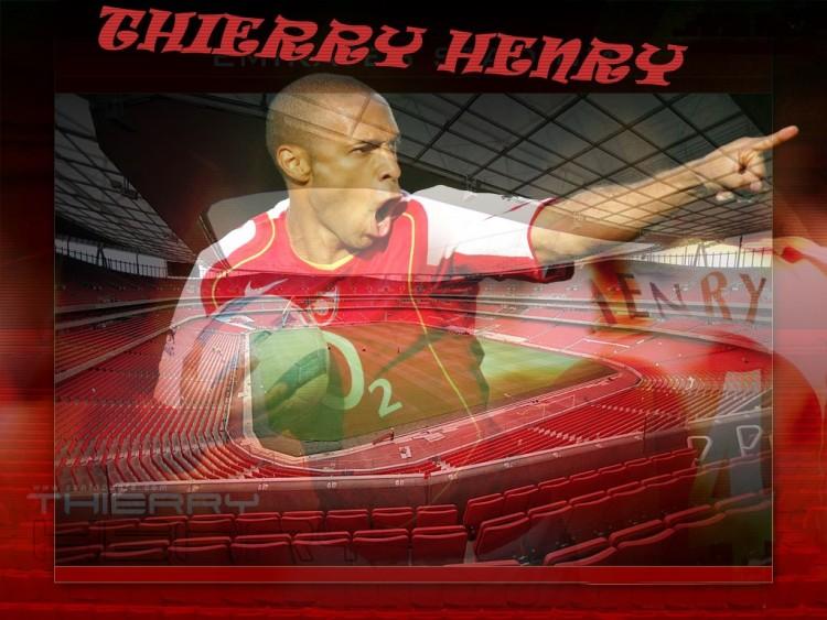 Fonds d'écran Sports - Loisirs Arsenal Thierry Henry (arsenal)