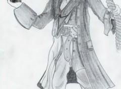 Wallpapers Art - Pencil Jack Sparrow
