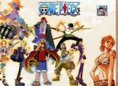 Fonds d'écran Manga One Piece vista