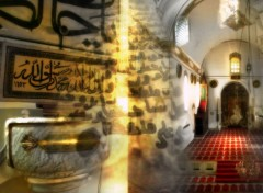 Wallpapers Digital Art mosk in paradis