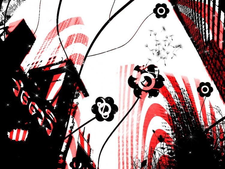 Wallpapers Digital Art Style Urbain AeJi Jap Town!