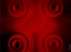 Wallpapers Digital Art red circles