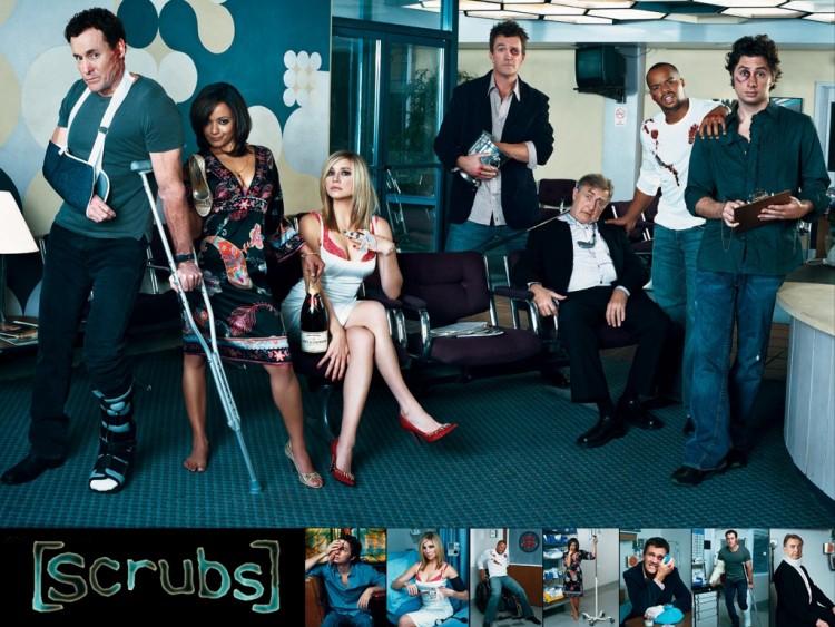 Fonds d'écran Séries TV Scrubs Scrubs