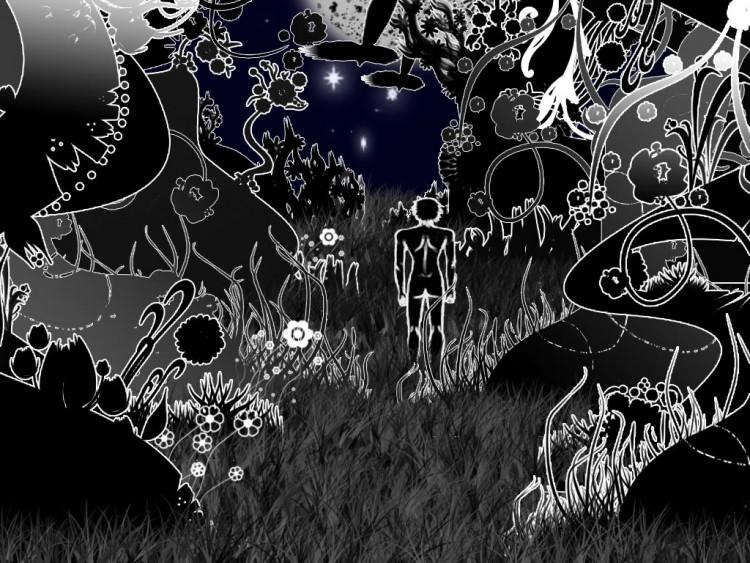Fonds d'écran Art - Numérique Style Dark AeJi de la solitude.