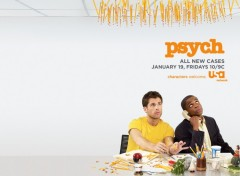 Fonds d'écran Séries TV Psych new season