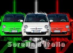 Fonds d'écran Voitures 500% italianna !!