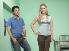 Wallpapers TV Soaps Psych Shawn et Juliet