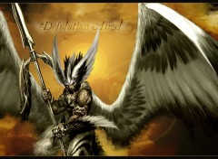 Wallpapers Fantasy and Science Fiction desolation angel