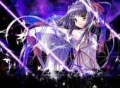 Wallpapers Manga A magic night.