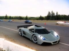 Fonds d'écran Voitures I2B Concept Project Raven Le Mans Prototype