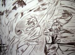 Fonds d'écran Art - Peinture luciole et shinrei