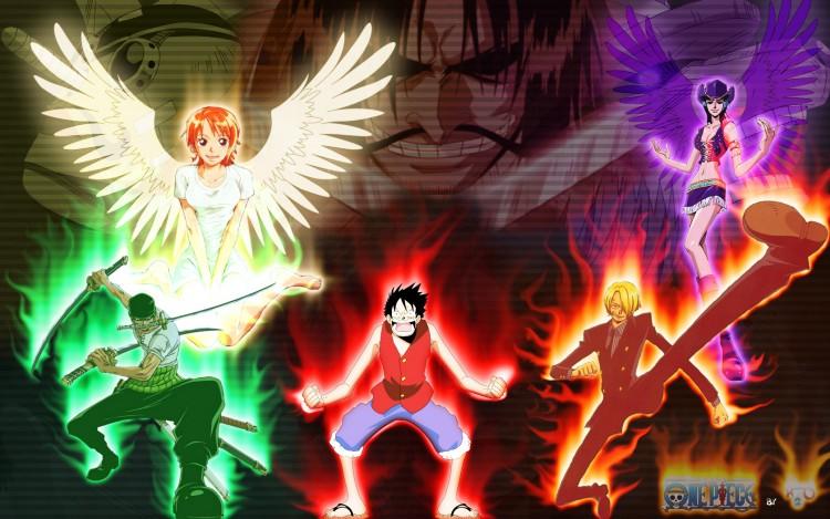 Fonds D Ecran Manga Fonds D Ecran One Piece Mugiwara Team Par H2ofr Hebus Com