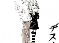 Fonds d'écran Art - Crayon Raito et Misa