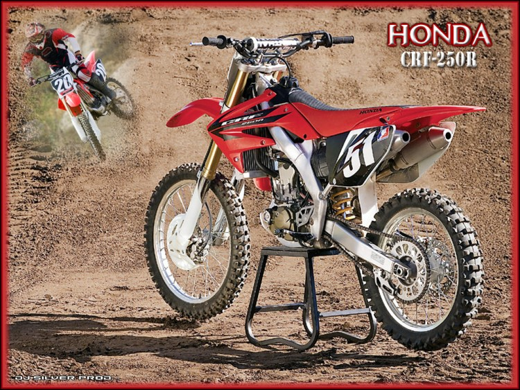 Wallpapers Motorbikes Honda CRF-250R