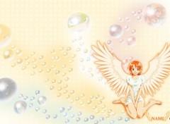 Fonds d'écran Manga Nami bubble