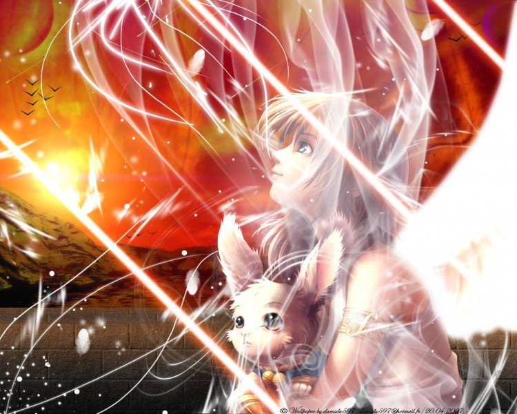 Fonds d'écran Manga Divers - Anges The dream to brighten up.