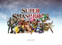 Wallpapers Video Games SSBB on Wii