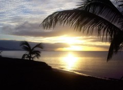 Wallpapers Nature  coucher de soleil en guadeloupe