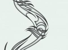 Fonds d'écran Art - Numérique Dragon Tribal