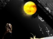 Wallpapers Music Shakira moon