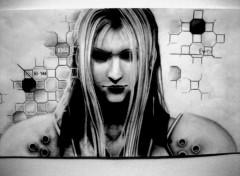 Wallpapers Art - Pencil sephiroth
