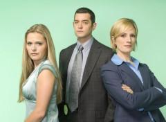 Fonds d'écran Séries TV Psych Carlton, Juliet and intérim chief