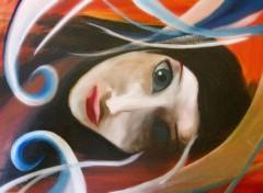Wallpapers Art - Painting allongée