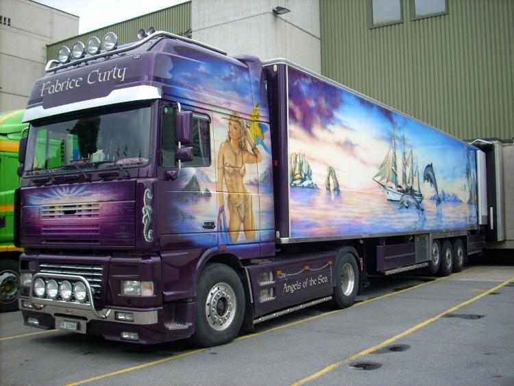 Wallpapers Various transports Trucks Daf
