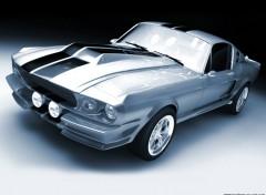Fonds d'écran Voitures mustang GT 500 1967