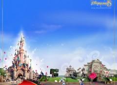 Fonds d'écran Constructions et architecture DisneyLand Paris 15 Ans