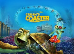 Fonds d'écran Dessins Animés Némo - Crush's Coaster - DisneyLand Paris 15 Ans