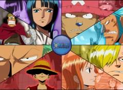 Fonds d'écran Manga Enies Lobby - Mugiwara